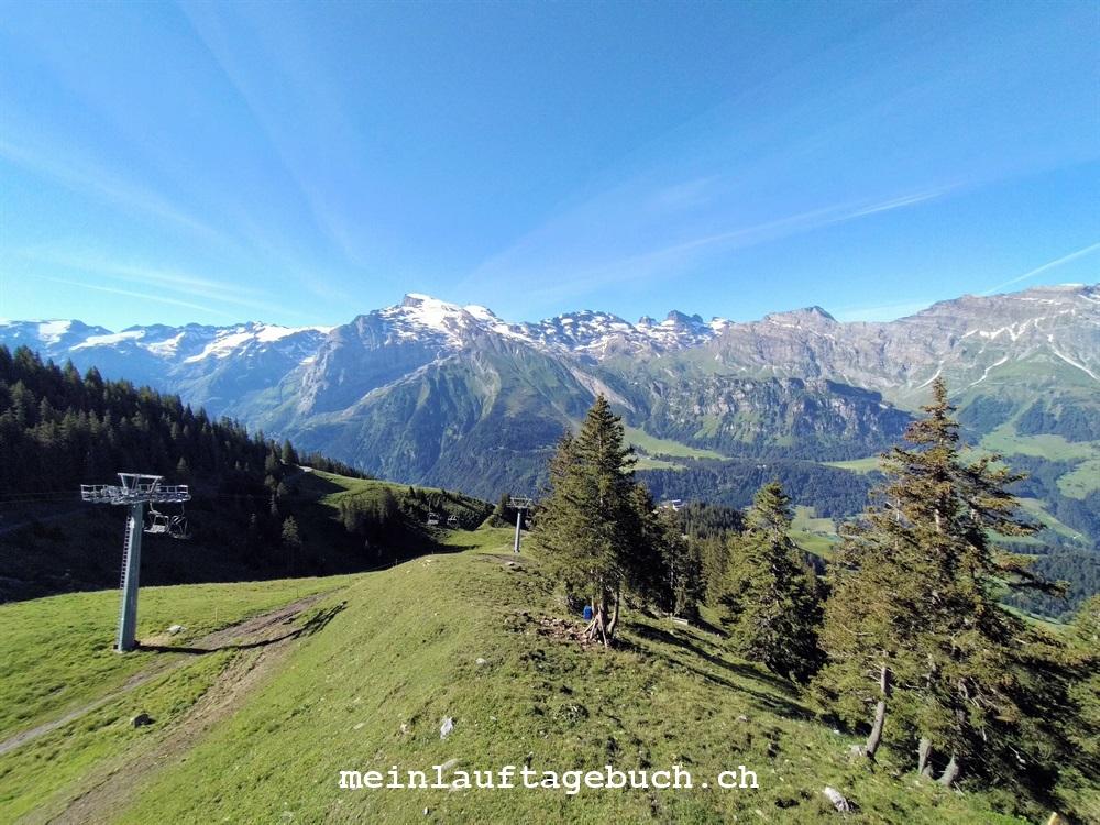 Wanderung Engelberg Brunni Rugghubel