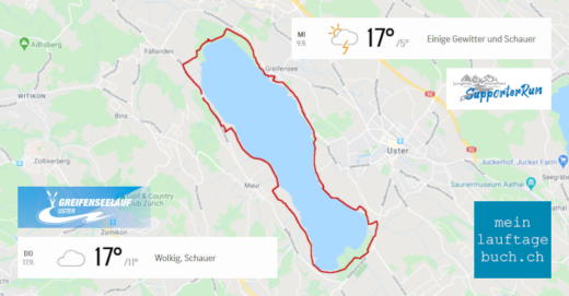 Laufen Training Greifensee Fällanden