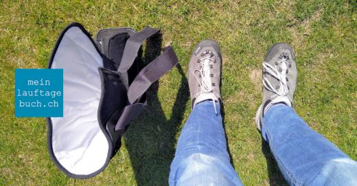 Laufen Bewegung Fuss Schuhe