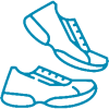 Lauftagebuch Software Icon Laufschuhe