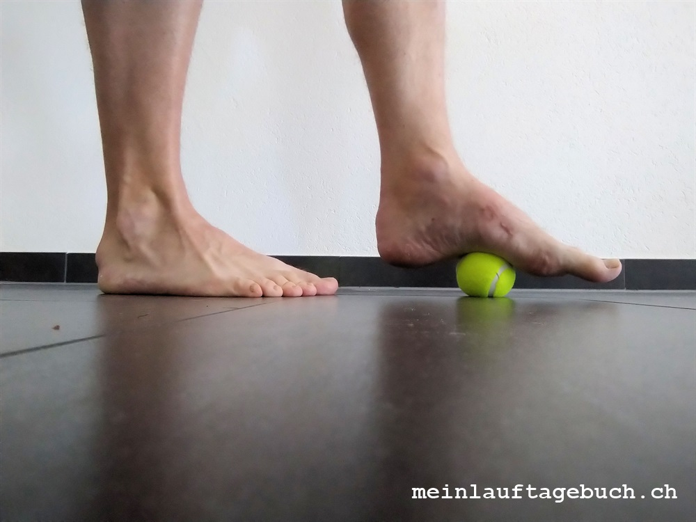 Fuss Physio Übungen